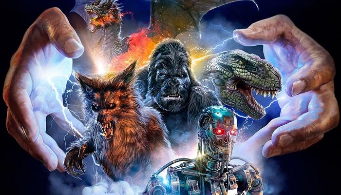 Creature Designers The Frankenstein Complex Poster 1