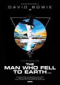 Man Who Fell To Earth poster