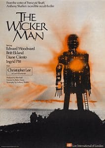 The Wicker Man 1973 film UK poster