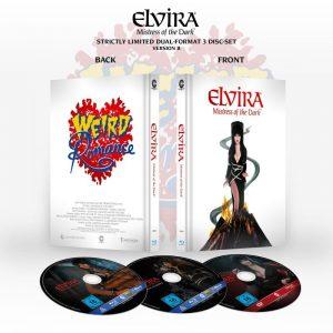 elvira mistress of the dark limited collector s edition 3 disc set design b