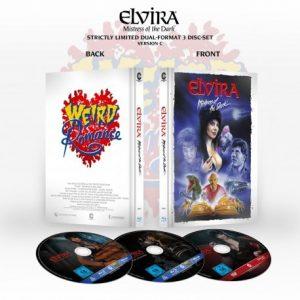 elvira mistress of the dark limited collector s edition 3 disc set design c