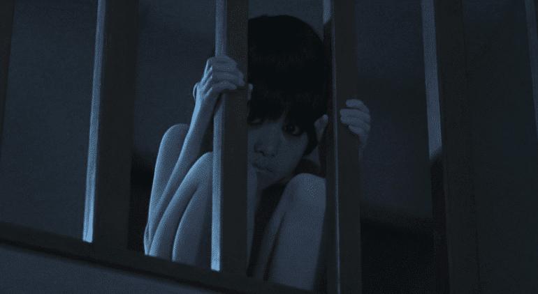the grudge screenshot toshio scary boy