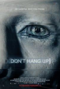 dont hang up poster