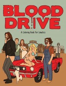blood drive coloringbook