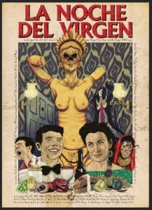 night of the virgin poster