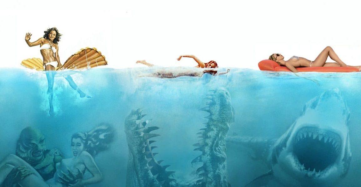 top10 baignade monstres marins