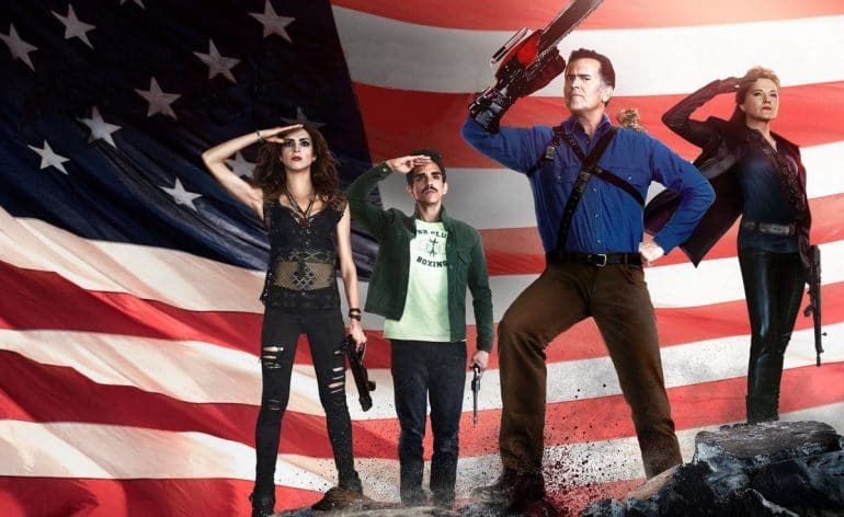 Ash vs Evil Dead season 2 patriotic art e1502161233387