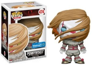 Funko Pop It Movie 474 Pennywise with Wig Walmart