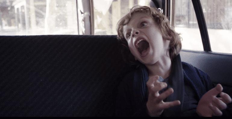 babadook movie still kid screaming