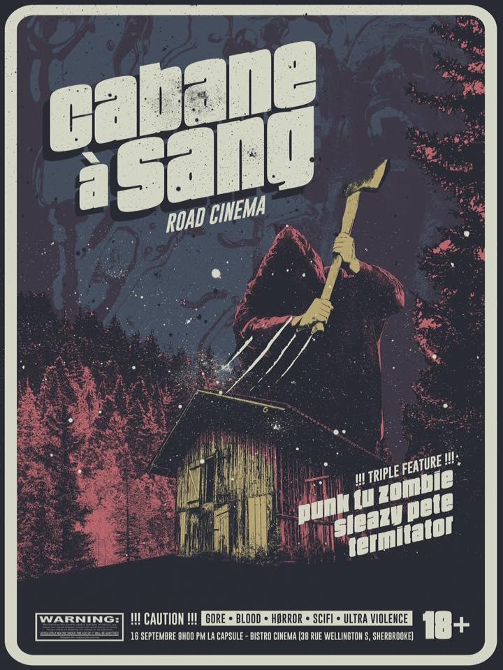 cabane a sang affiche