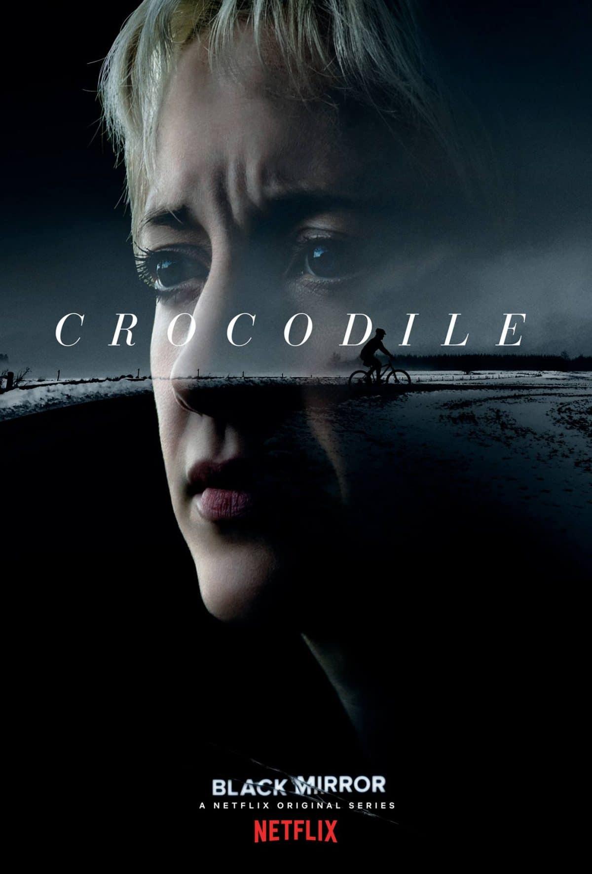 black mirror crocodile poster