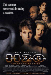 Halloween H20 film poster