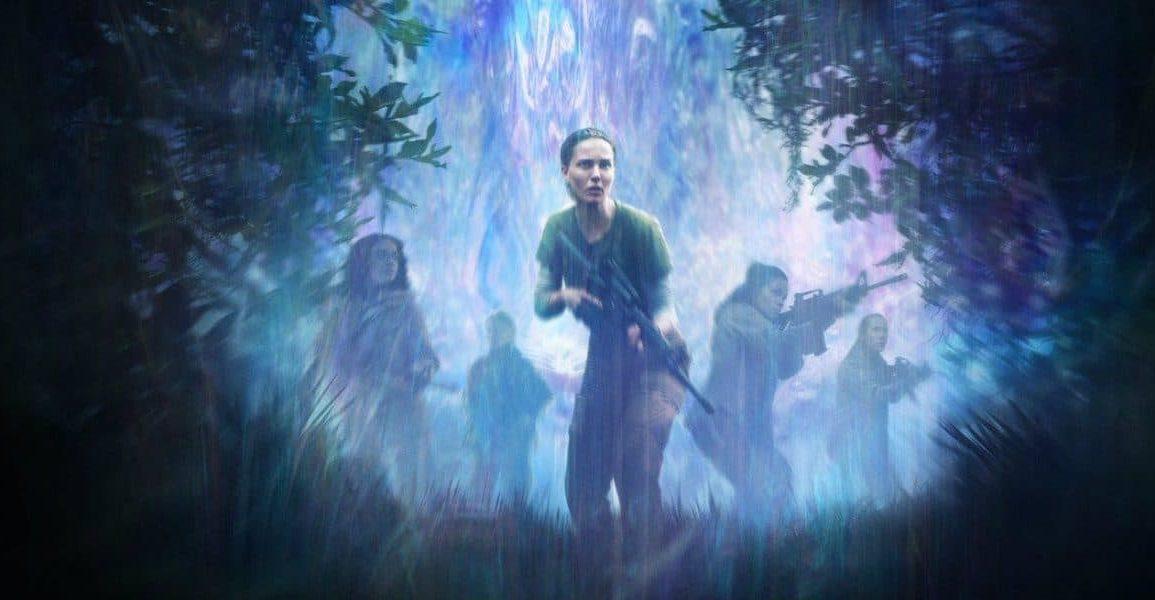 Annihilation poster with Natalie Portman
