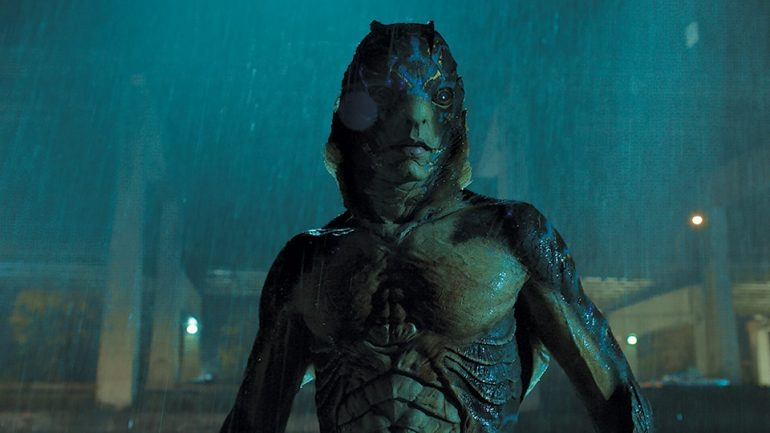 shape of water creature
