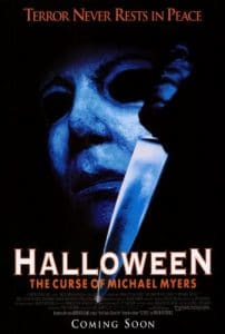 Halloween The Curse of Michael Myers film poster