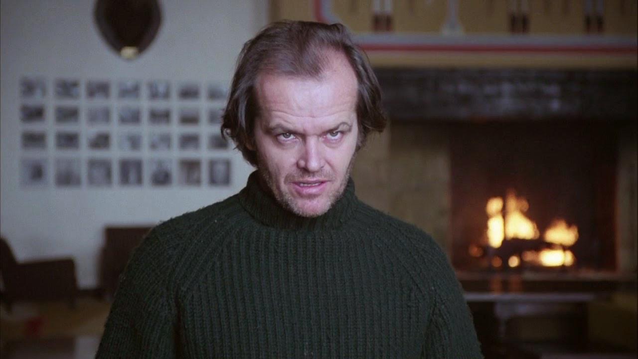 Jack Nicholson Social Distancing in The Shining