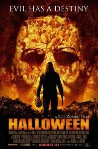 Halloween film poster Rob Zombie