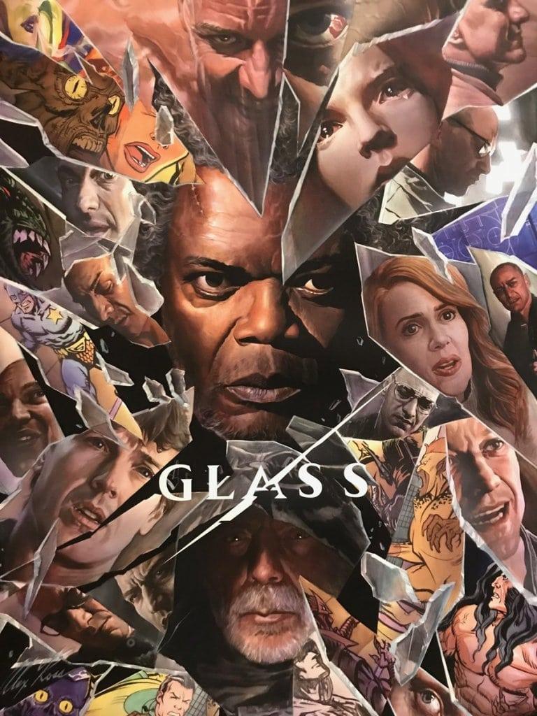 GLASS COMIC CON POSTER