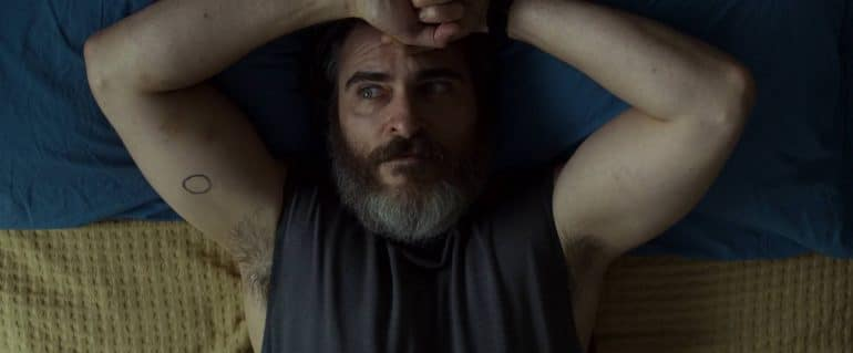 Tattoo You Were Never Really Here Lynne Ramsay