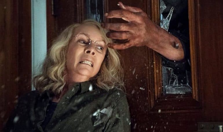 jamie lee curtis halloween movie 2018