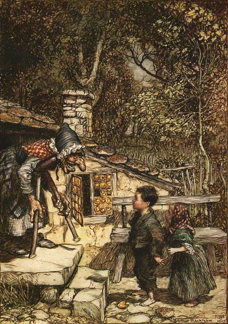 Hansel and gretel rackham