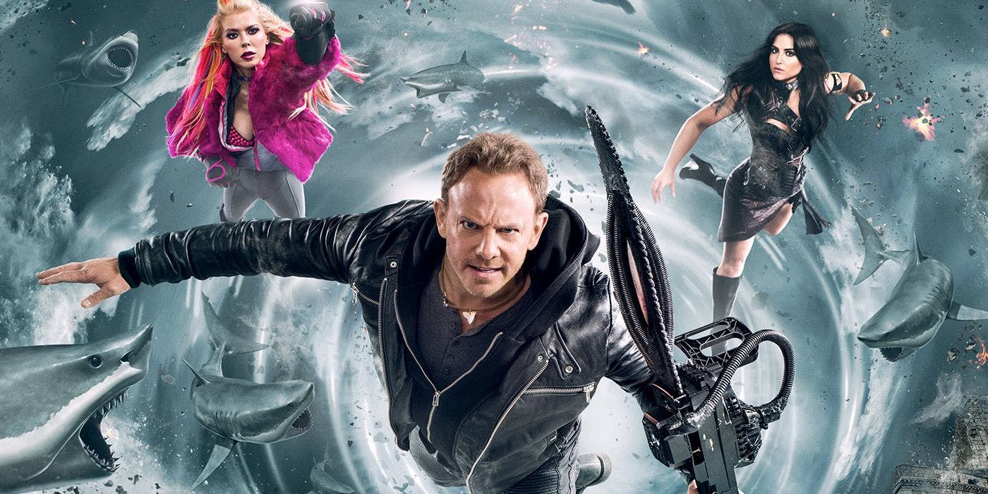 Sharknado 5 Poster Header Crop