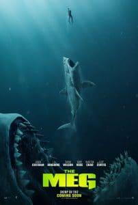 The Meg 2018 movie poster