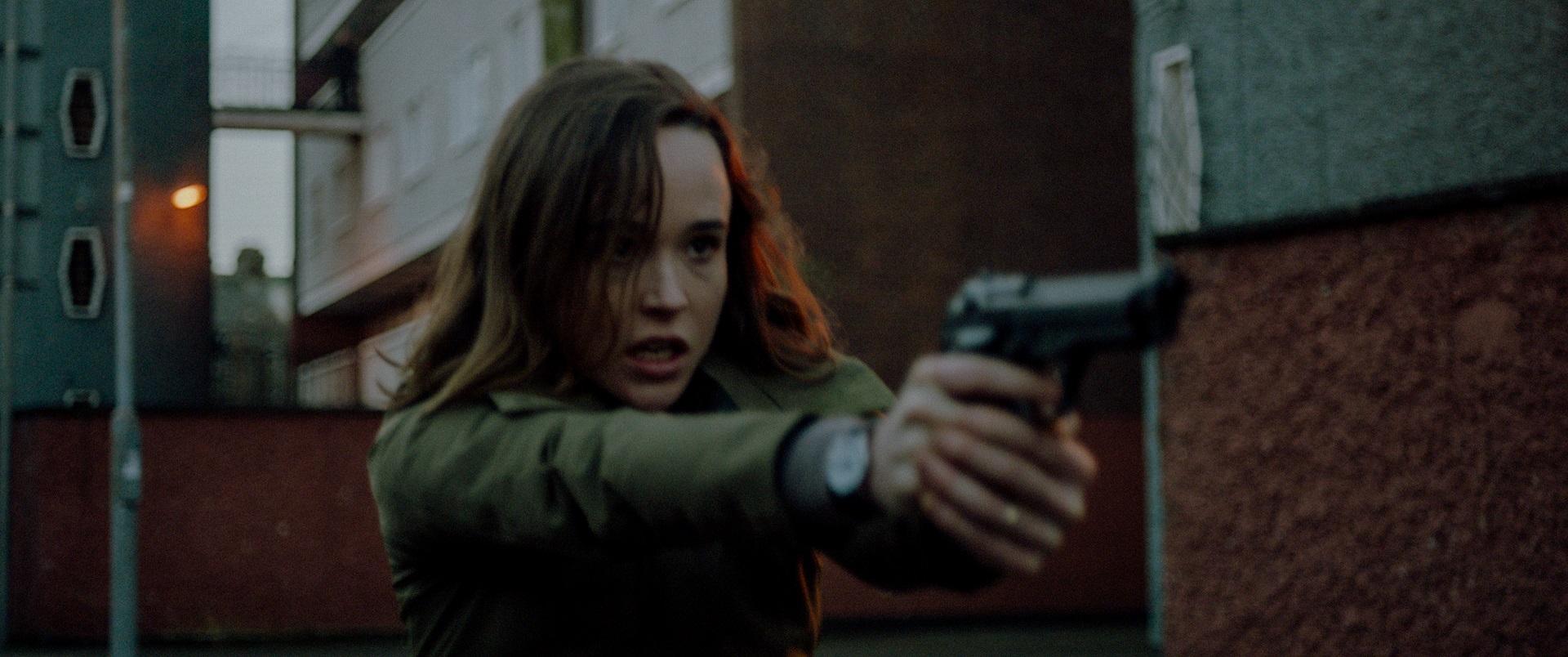 The Cured Ellen Page film capture