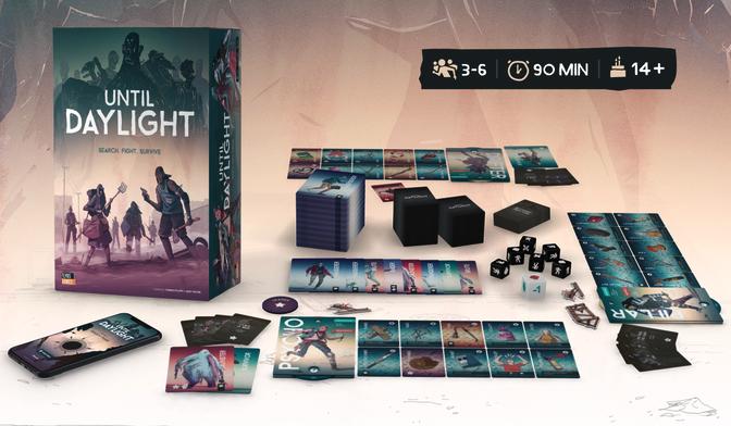 Until Daylight jeu kickstarter