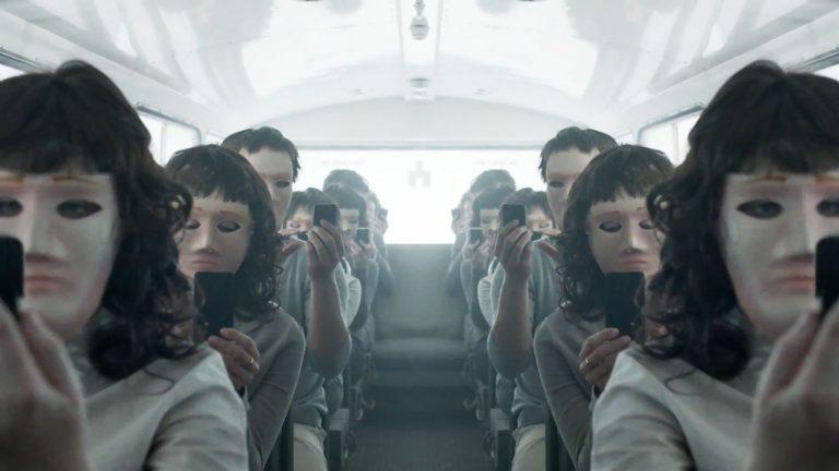black mirror masks