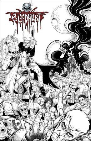 Bloodhunt livre jaquette couverture