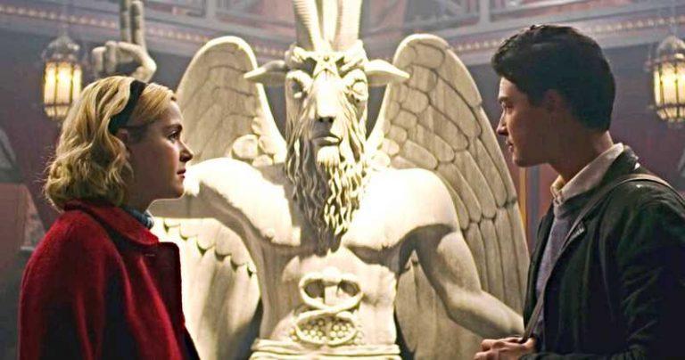 Chilling Adventures Of Sabrina Satantic Temple Lawsuit Baphomet