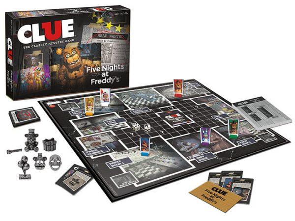 Jeu Clue Five Nights