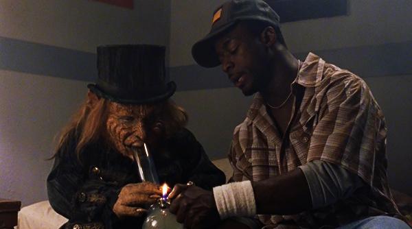 leprechaun back 2 tha hood bong smoking warwick davis review