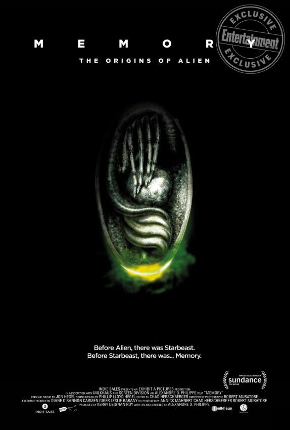 memory origins of alien