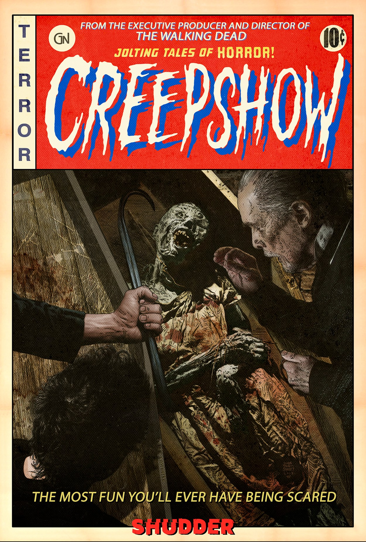 Creepshow shudder affiche