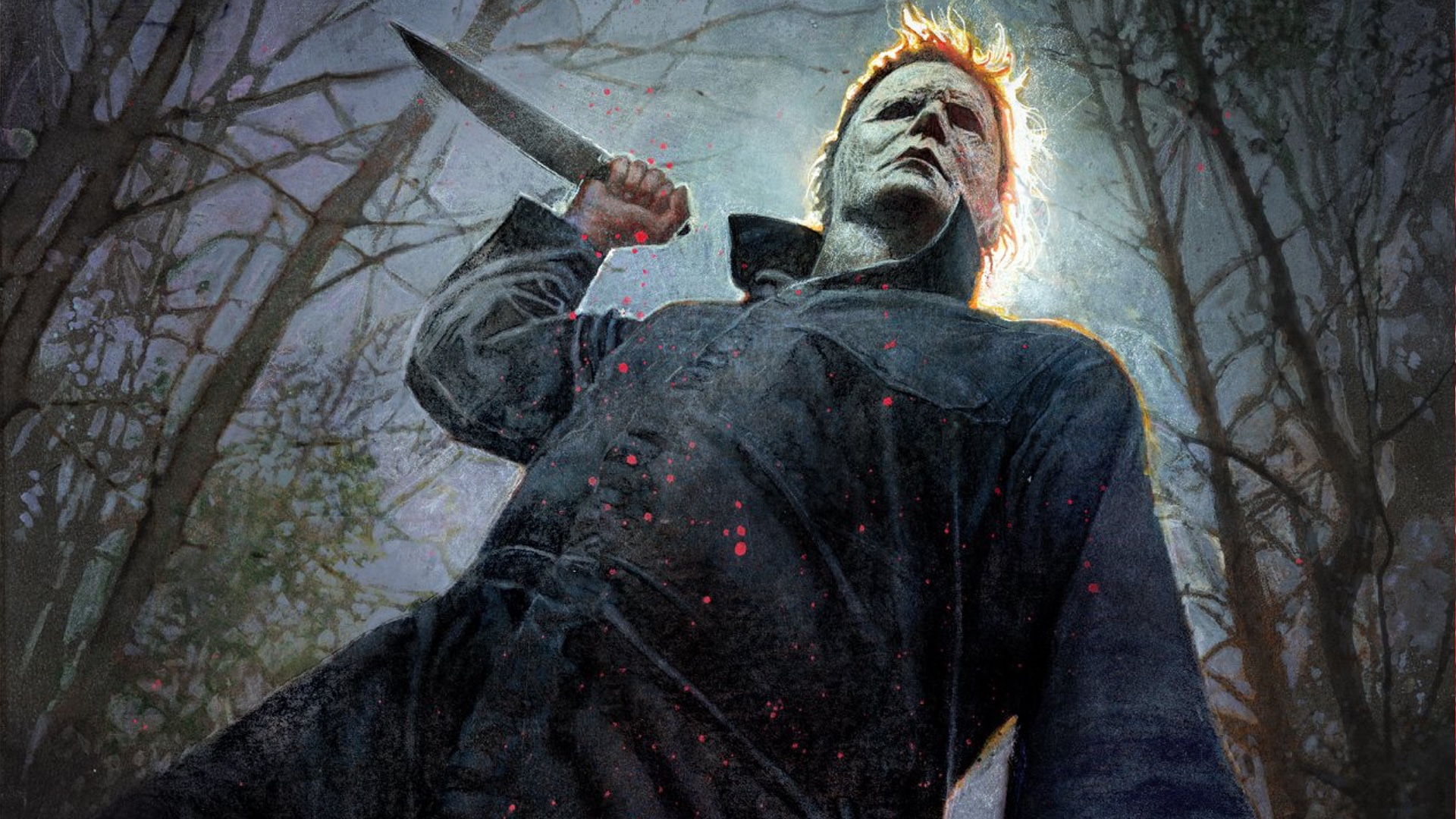 c739b0bec0dff4881daf559104f3b1d7 michael myers is read to kill in this comic con poster for halloween social