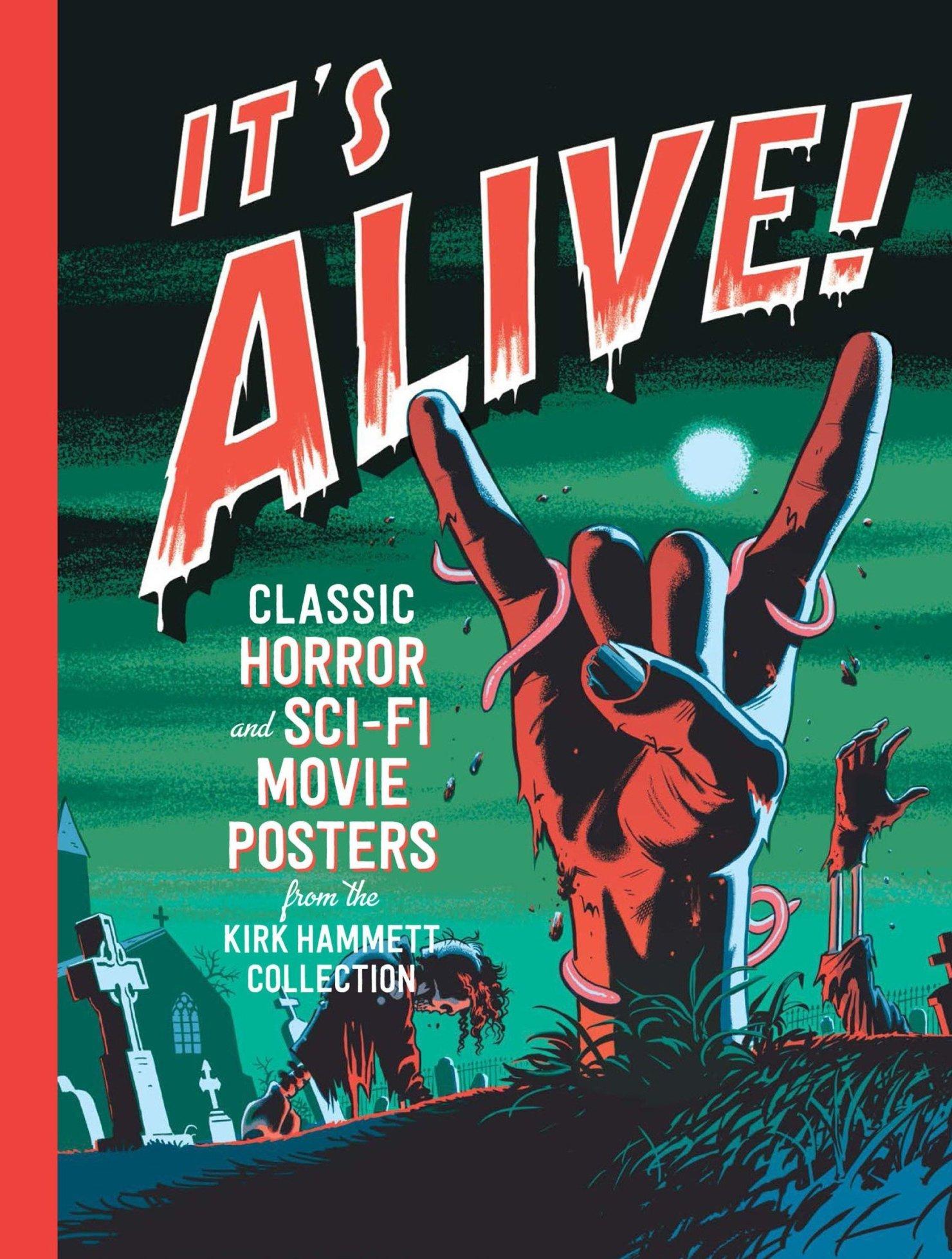 Kirk Hammett It's Alive affiche