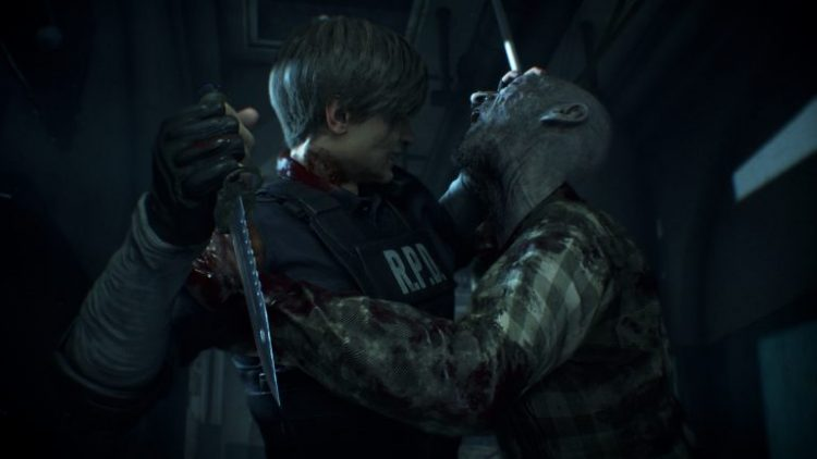 Resident evil 2 capture écran