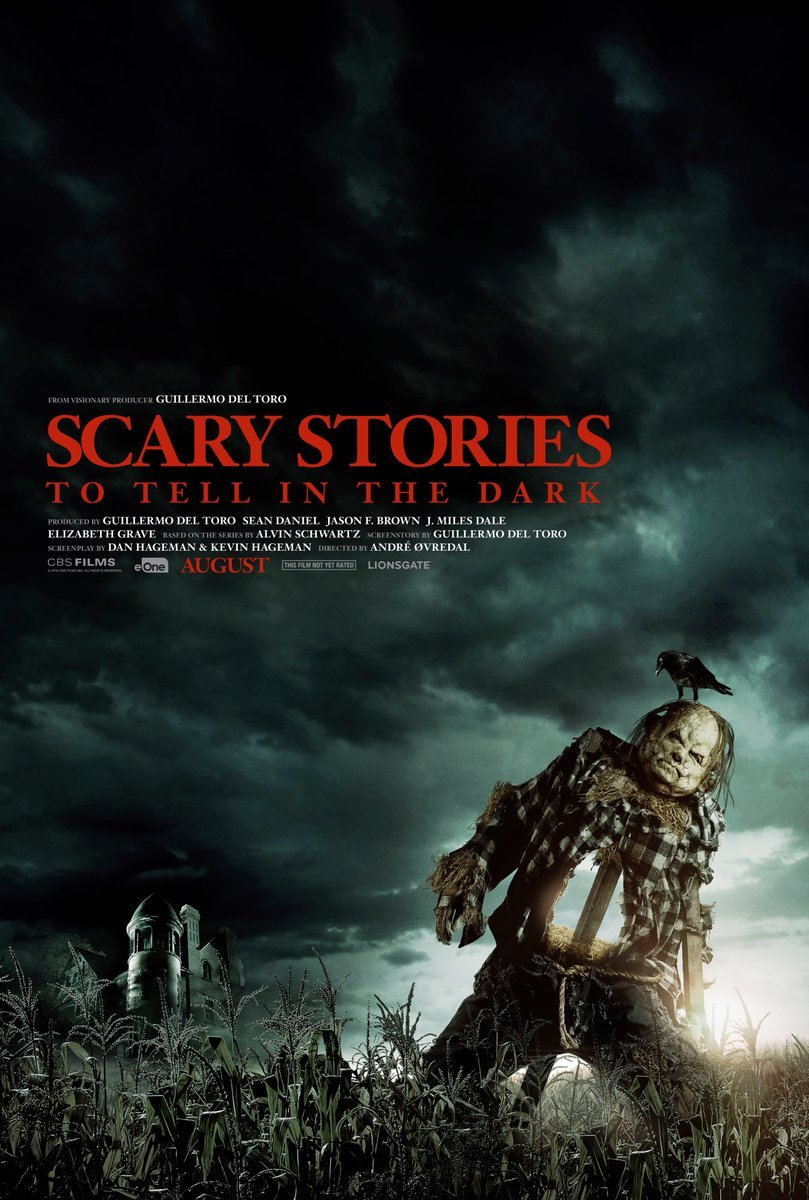 Scary Stories to tell in the dark affiche