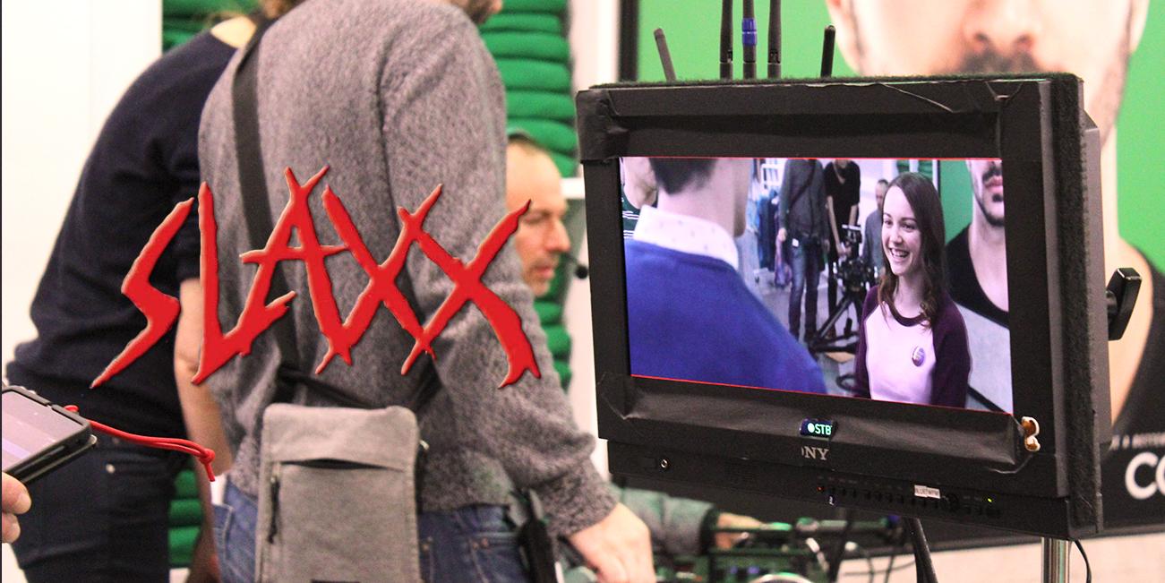 slaxx horror tournage elza kephart