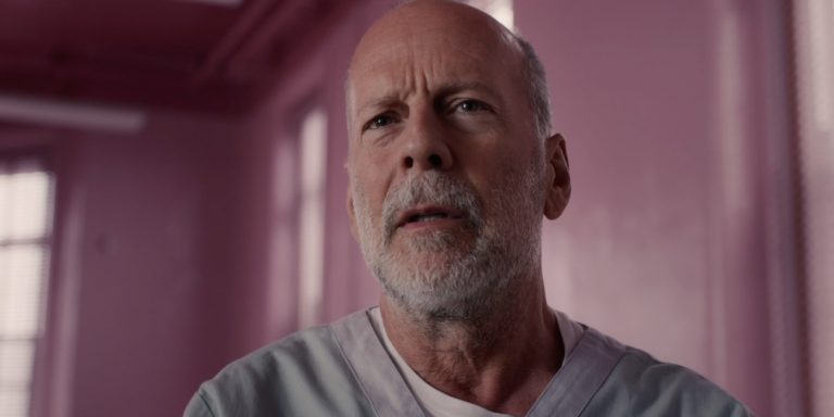 Bruce Willis as The Overseer in Glass