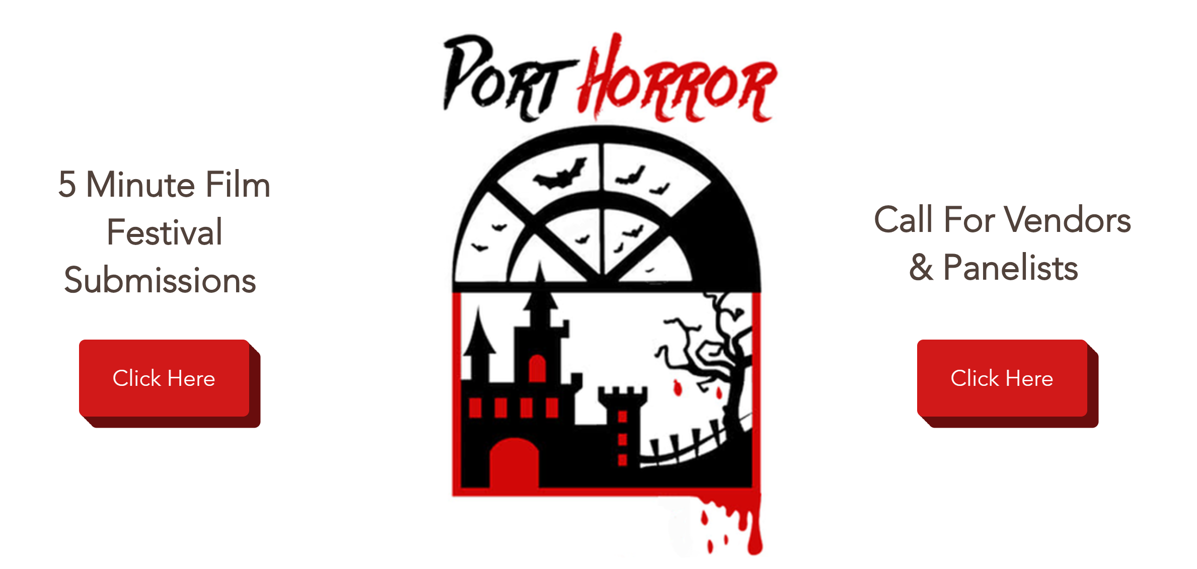 Port Horror 2019 affiche