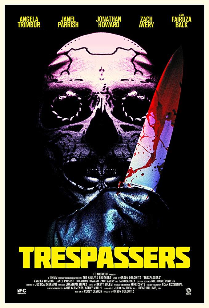 Trespassers affiche film