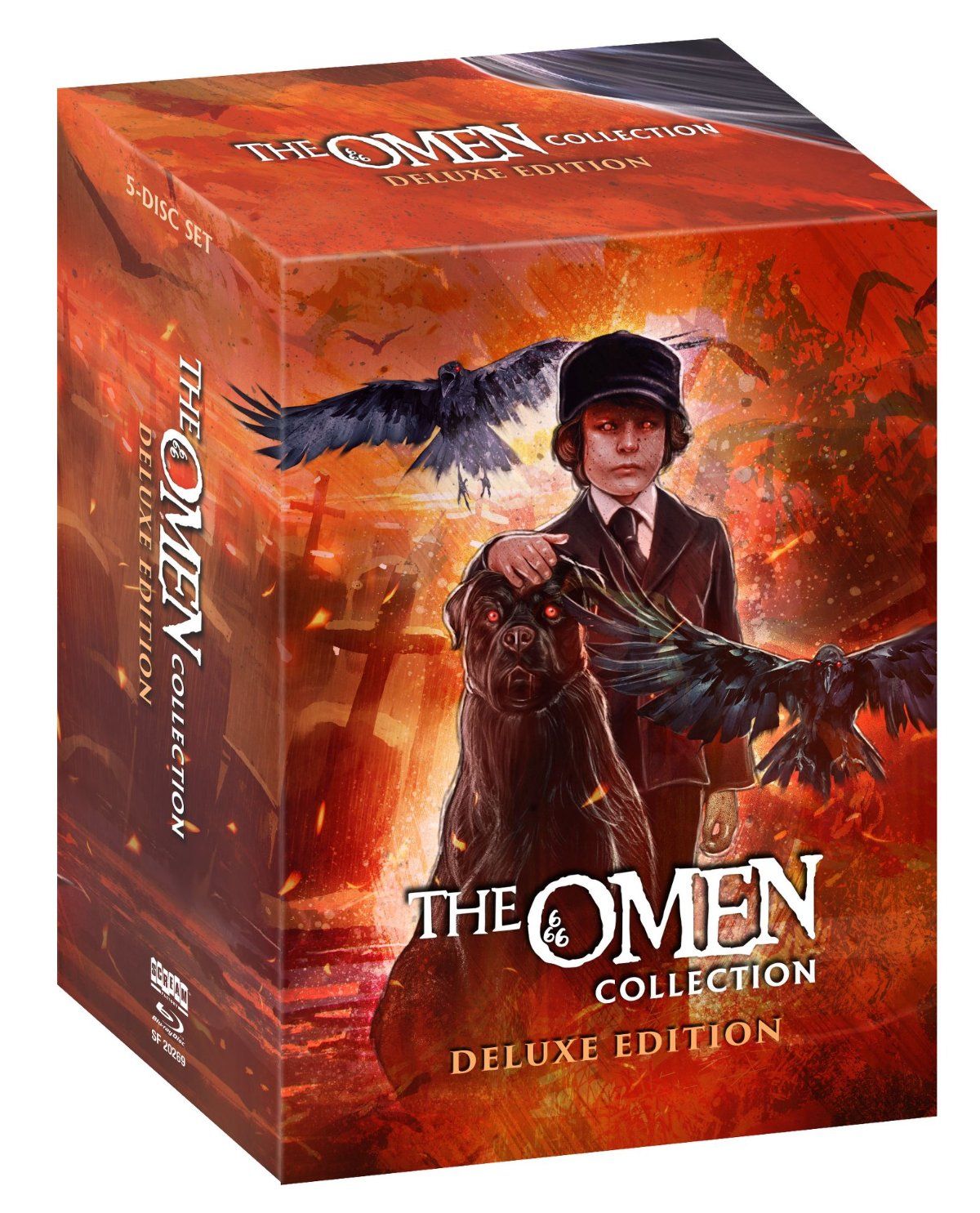 Scream Factory The Omen Édition Deluxe