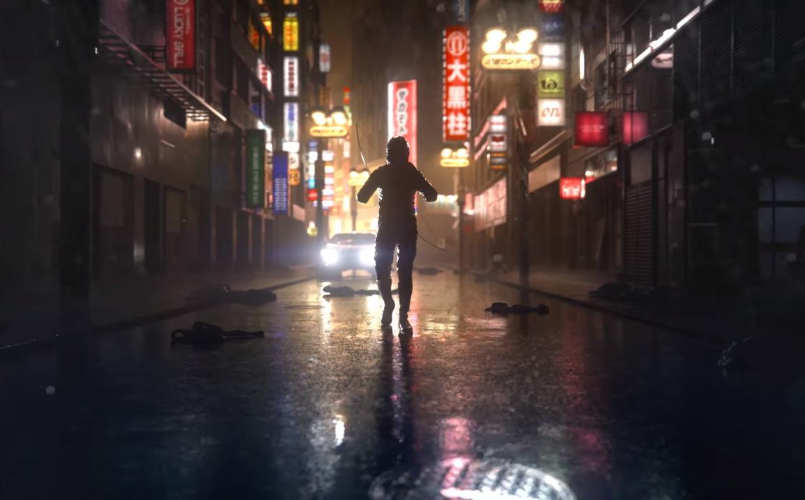 tokyo ghostwire trailer grab