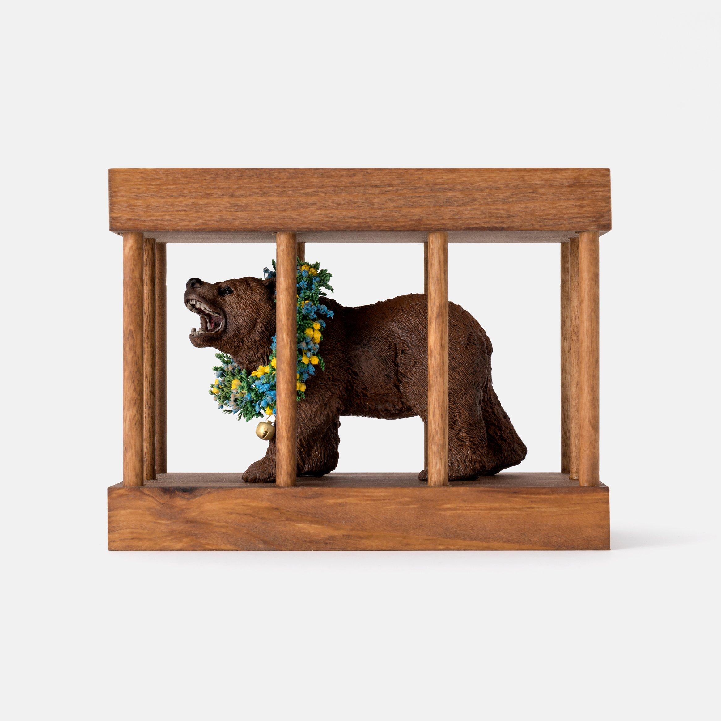 Bear Cage1 sq