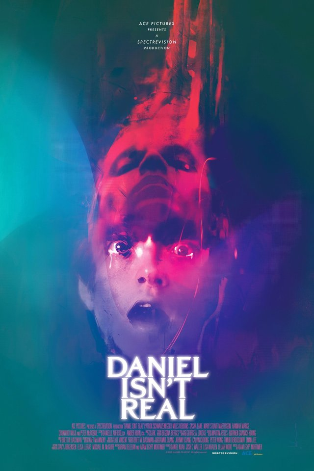 Daniel isn't real affiche film