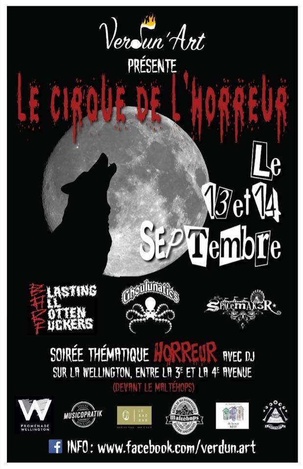 Cirque de l'horreur affiche