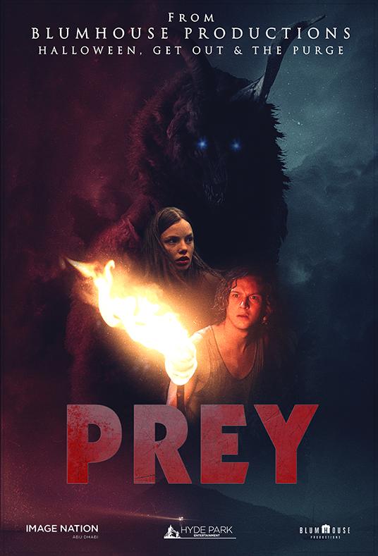 Prey affiche film